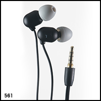 UwaterK7 100% Waterproof Earphones For 3.5mm Screw-In Jack - Long (40