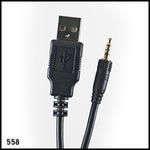 UwaterG2/G4 USB cable