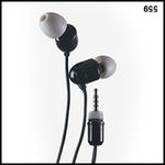 UwaterG2/G4 100% Waterproof Earphones For Screw-In Jack (Short)